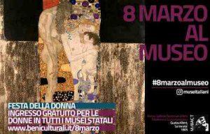 Festa della donna: ingresso gratuito per le donne in tutti i musei statali l'8 marzo per la festa della donna