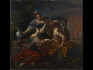 Guercino - Lot e le figlie