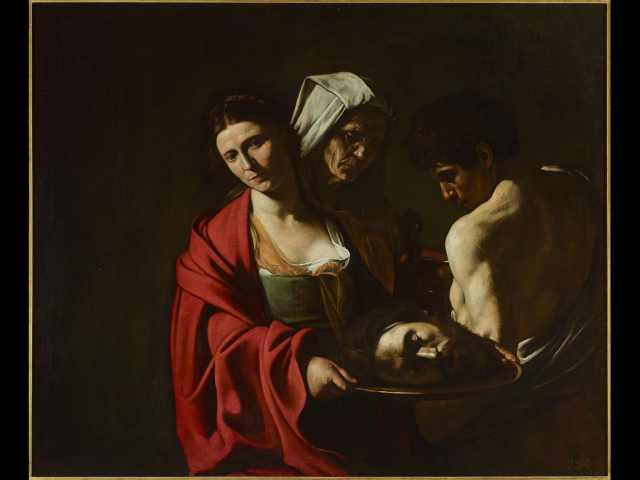 Michelangelo Merisi da Caravaggio - Salomè con la testa del Battista