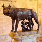 Musei Capitolini: statua bronzea La Lupa
