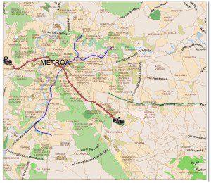 Muoversi a Roma: Metro Linea A