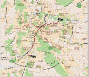 Muoversi a Roma: Metro Linea B