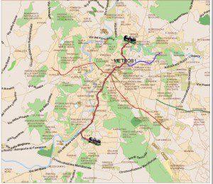 Muoversi a Roma: Metro Linea B1