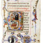 """Le miniature del """"Liber Regulae"""" dell'Ospedale romano di Santo Spirito in Sassia in mostra all'Archivio di Stato"""