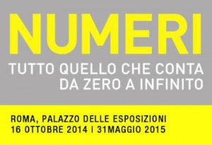 Mostra Numeri a Palazzo delle Esposizioni