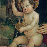 Mostra Pintoricchio ai Musei Capitolini: Bambin Gesù delle mani