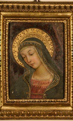 Madonna - Mostra Pintoricchio ai Musei Capitolini