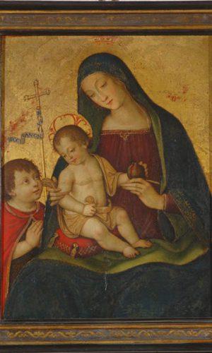 Madonna della Melagrana Mostra Pintoricchio ai Musei Capitolini