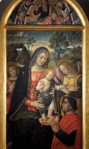 Madonna della Pace Mostra Pintoricchio