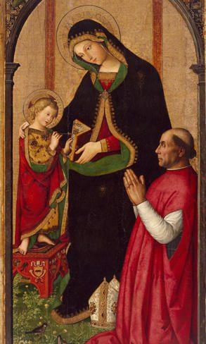 Mostra Pintoricchio ai Musei Capitolini: Madonna delle Febbri