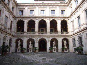 Palazzo Altemps - cortile interno